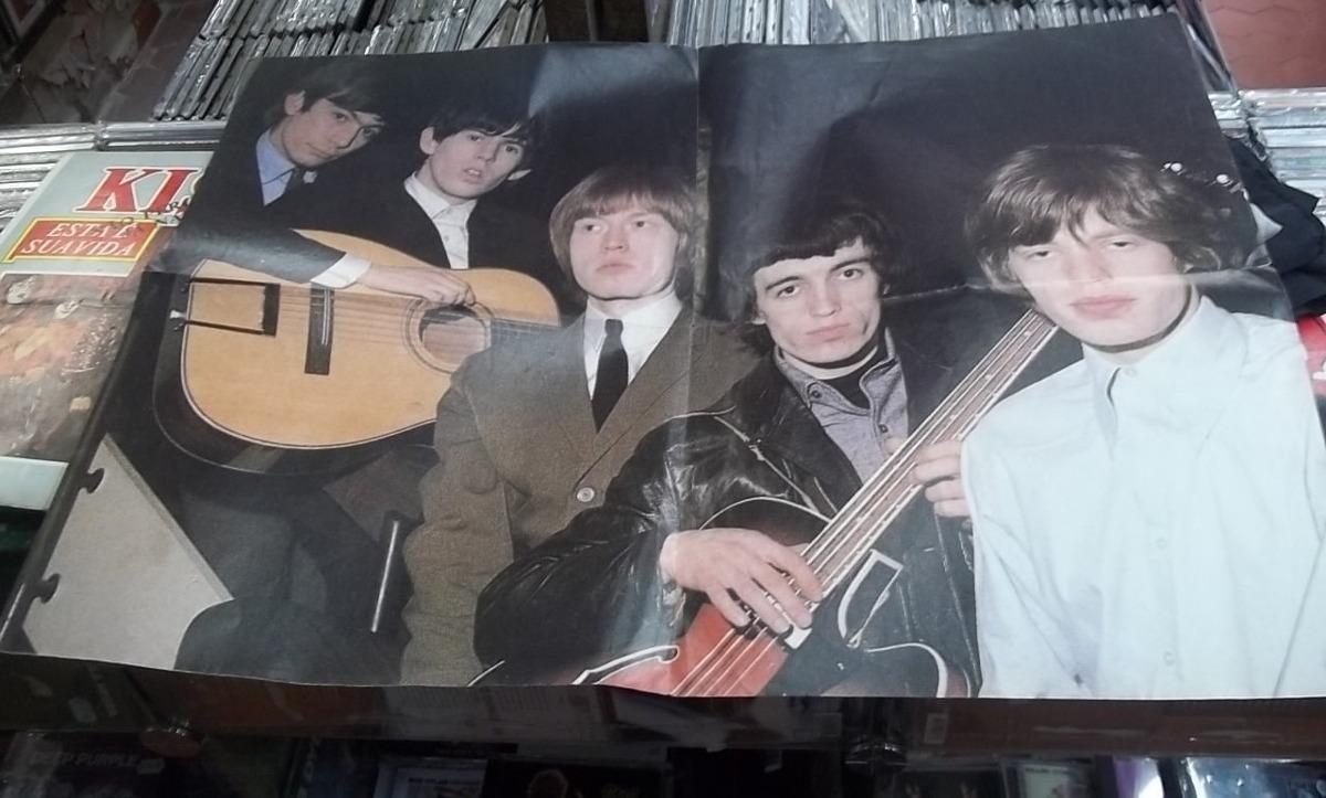 Rolling Stones Ontem E Semprelindo Poster Musica Mania