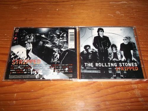 rolling stones - stripped cd imp ed 1995 mdisk