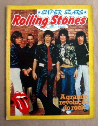 rolling stones / super stars / frete à cobrar
