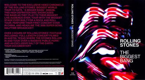 rolling stones the biggest bang box set importado 4 dvd