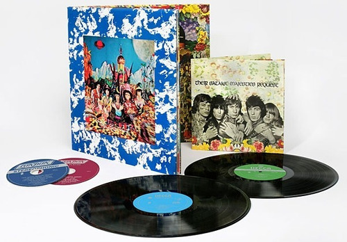 rolling stones their satanic majesties 50th 2 sacd 2 vinilo