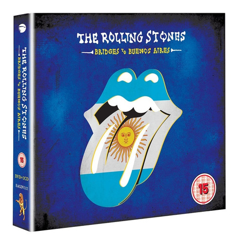 rolling stones to bridges buenos aires 2 cd + dvd en stock