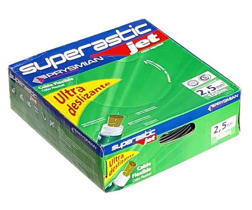 rollo 100m cable unipolar 2,5mm prysmian pirelli superastic