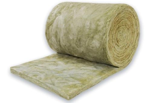 rollo 12m2 lana de roca mineral 50mm espesor x 40kg promo