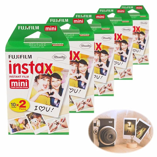 rollo 20 fotos instax mini fuji film cámara instantánea !!!!