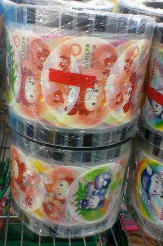 rollo 3500 tapas plásticas selladora vasos frappe industria