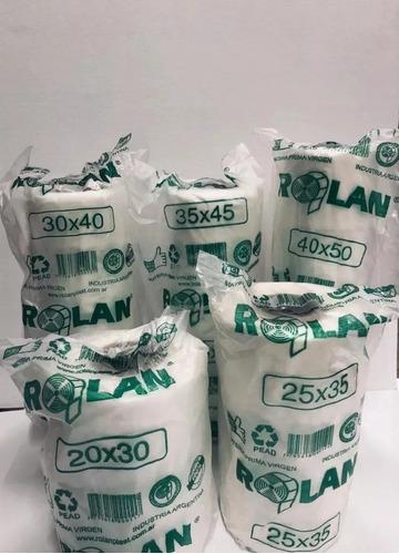 rollo arranque polietileno rolan alta densidad x 750 gr