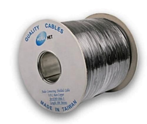 rollo cable audio microfono stereo 100 mts noga