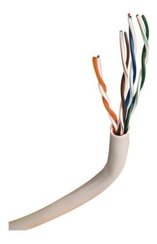 rollo cable de red cat.5e utp bobina 305 metros
