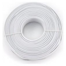 rollo cable telefonico alarma unifilar 100mts 2 pares plano