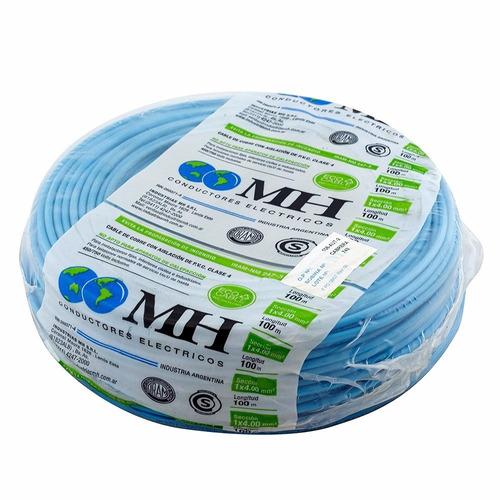 rollo cable unipolar mh 2,5 mm normalizado iram 100 mts