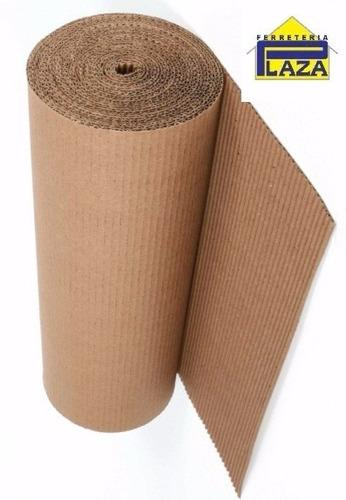rollo cartón corrugado -mudanzas, construcción, pinturería-