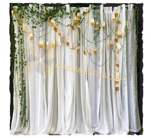 rollo cinta hojitas tela enredadera hojas decoracion globos
