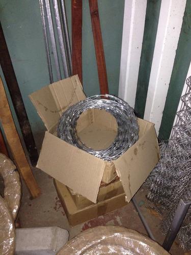 rollo concertina barbada 30 cms