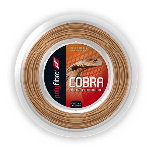 rollo cuerda tenis polyfibre cobra