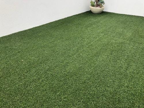 rollo de 20m2 pasto sintetico artificial residencial 30mm jardin apariencia natural interior y exterior contra rayos uv