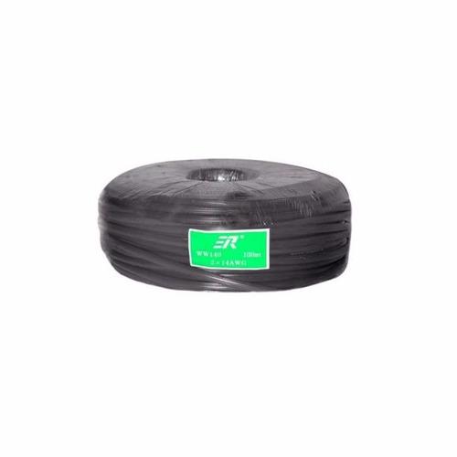 rollo de cable 2x14 uso rudo para bocina bafle altavoz