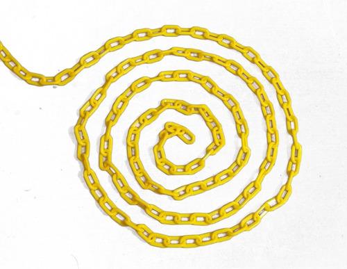rollo de cadena amarilla 50 mts