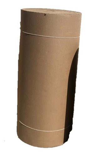 rollo de cartón corrugado single face en 1 mt de ancho