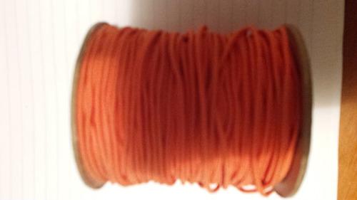 rollo de cordón elástico 1,0 mm para bisutería, 100 metros