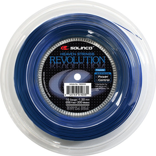 rollo de cuerda profesional de tenis solinco revolution 16