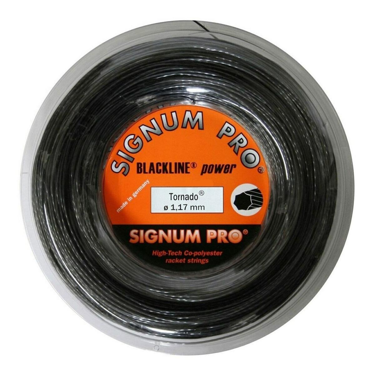 Signum Pro Tornado 200m 1.17mm Cordaje Tenis