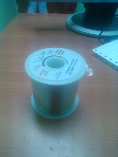 rollo de estaño 0.8mm 500gramos alta calidad 113metros
