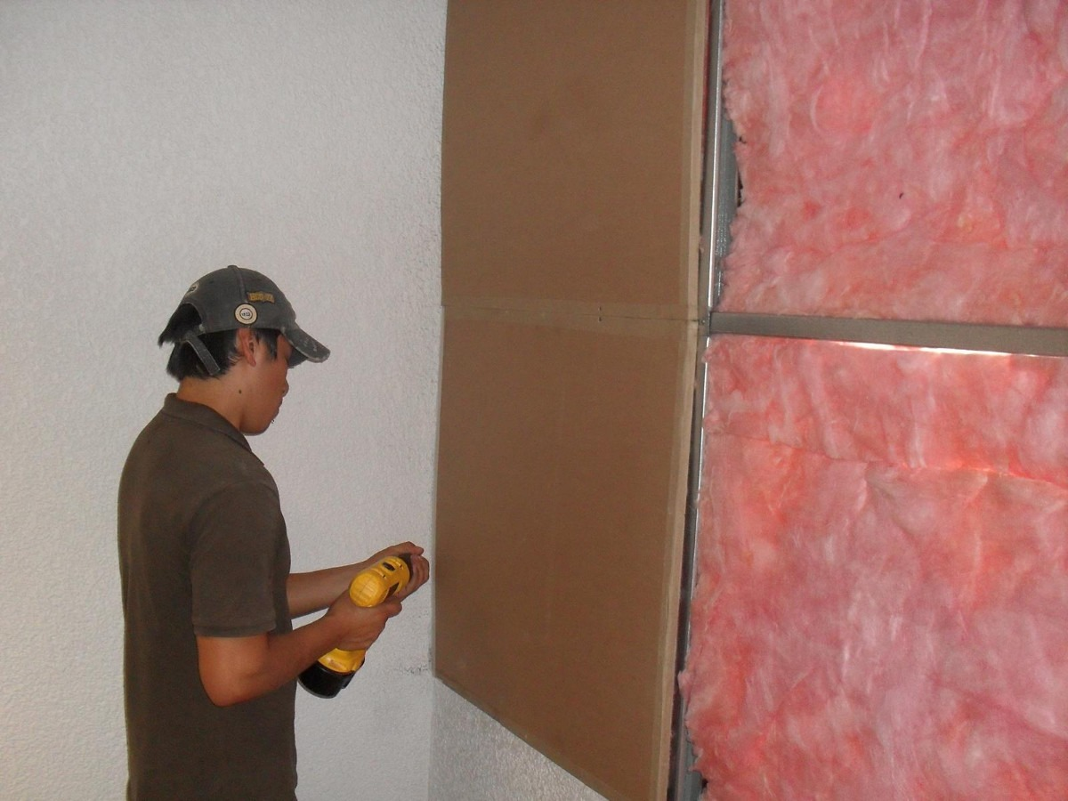 Rollo de fibra de vidrio aislante termo ac stico for Aislamiento acustico vidrio
