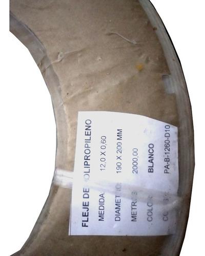rollo de fleje de polipropileno 2000 metros de 12mm x 0,6mm