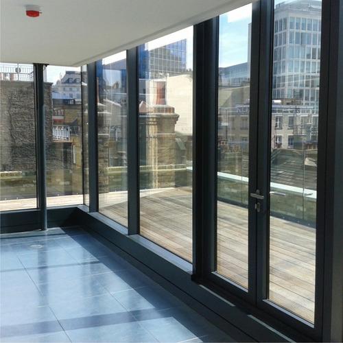rollo de lamina espejada para ventana- autoadhesivo 1m