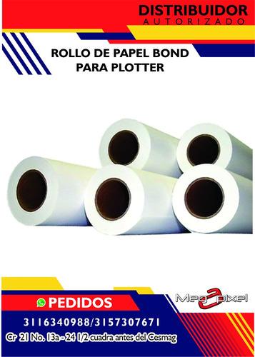 rollo de papel bond 72 x 50 - 75 grs
