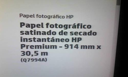 rollo de papel fotografico para plotter hp premium