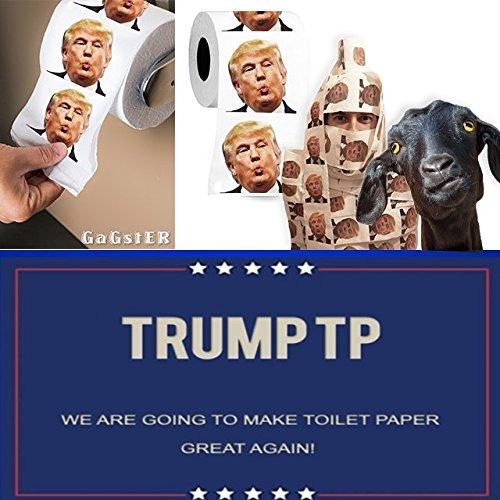 rollo de papel higiénico donald trump | imagen a todo colo
