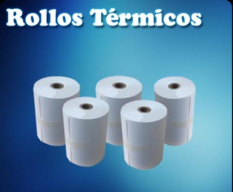 rollo de papel para impresoras termicas.