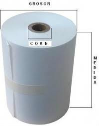 rollo de papel quimico 75 para impresoras bixolon 270 epson