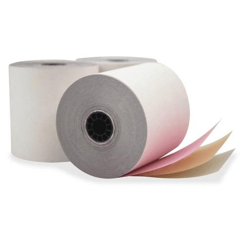 rollo de papel químico de 80mm 3tiros 60unds caja rolliticos