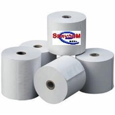 rollo de papel térmico  impresora 80mm caja con 50 pzas