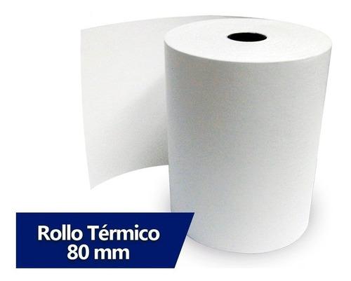 rollo de papel termico para impresora 76mm 80mm