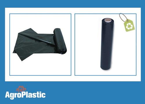 rollo de polietileno negro : 3mts x 100micrones x 100mts