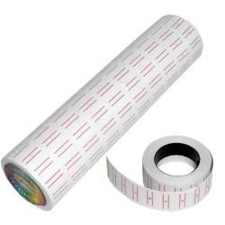 rollo de1000 etiquetas de colores etiquetadoras 20 digitos