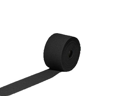 rollo elástico crochet 4 pulgadas negro