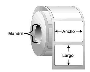 Rollo Etiquetas Termico Transfer Zebra 40mmx22mm 999