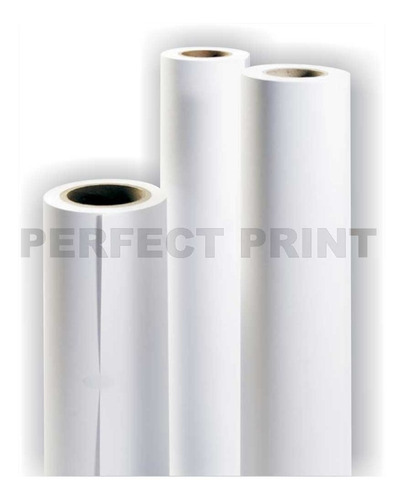 rollo film poliester blanco a3 30 cm x 10 mts 75 micrones