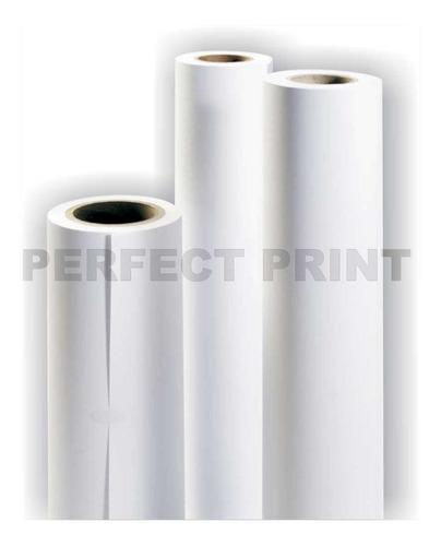 rollo film transparente 61 cm x 10 mts plotter 100 mic