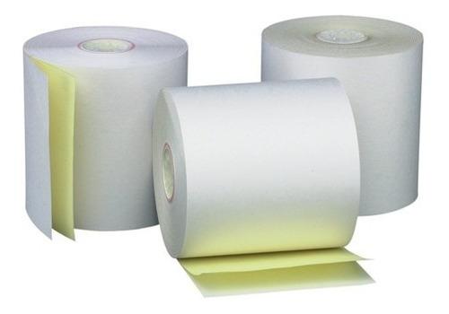 rollo fiscal papel quimico duplicado 76mm x10u hasar p-441f