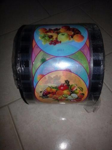 rollo frappe rollos frutas selladora envase pitillos maquina