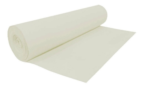 rollo goma eva alfombra piso marfil 4mm 1,5x25 m