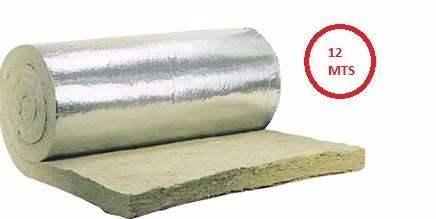 rollo lana mineral fa 50mm-40kg/m3 aislante termo-acustico
