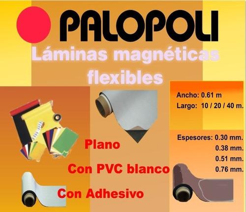 rollo magnetico con adhesivo 0.61x15m palopoli 0.76mm vehicu