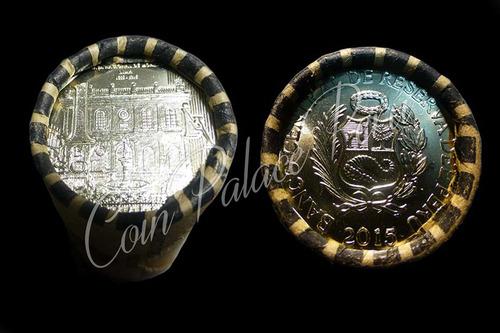 rollo o cono de 450 años de la casa de moneda de lima